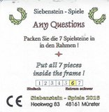 Any Questions :: Siebenstein