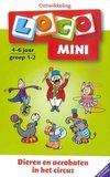 Dieren en acrobaten in het circus :: Mini Loco