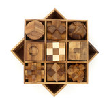 Box met 9 puzzels :: Breinbrekers