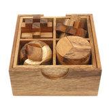 Set met 4 puzzels :: Breinbrekers