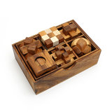 Box met 6 puzzels :: Breinbrekers