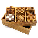 Box met 6 puzzels :: Breinbrekers
