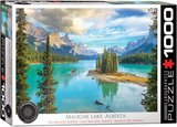 Maligne Lake Alberta :: Eurographics