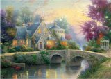 Lamplight Manour :: Thomas Kinkade