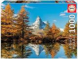 Matterhorn Mountain in Autumn :: Educa