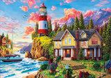Lighthouse near the Ocean :: Educa