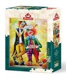 Musician Clowns :: Art Puzzle