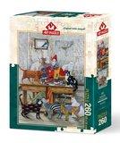 The Colouredl Cats :: Art Puzzle