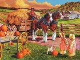 Hay Wagon :: Cobble Hill