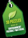 3D Bamboo puzzle - Pyramid_
