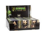 3D Bamboo puzzle - Doublecross_
