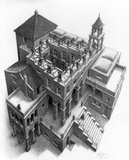 Klimmen en Dalen :: M.C. Escher