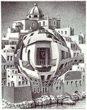 Balkon :: M.C. Escher