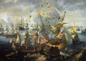 Puzzelman 1000 - Slag bij Gibraltar