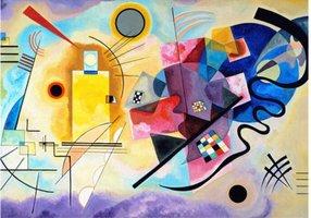 Eurographics 1000 - Kandinsky: Yellow-Red-Blue