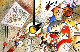 Piatnik 1000 - Wassily Kandinsky: Bustling Aquarelle