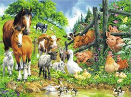Ravensburger 100 (XXL) - Dierenbijeenkomst