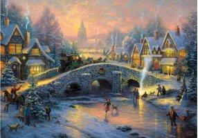 Thomas Kinkade 1000 - Spirit of Christmas