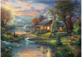 Thomas Kinkade 1000 - Nature's Paradise