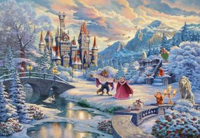 Disney: Beauty and the Beast Winter Enchantment