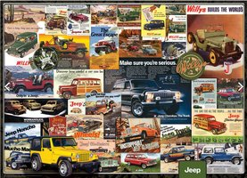 Eurographics 1000 - Jeep Advertising Collection