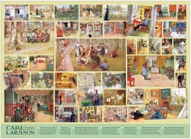 Cobble Hill 1000 - Carl Larsson