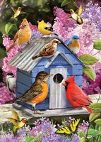 Cobble Hill 1000 - Spring Birdhouse