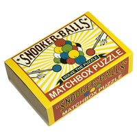 Matchbox puzzle - Snooker Balls