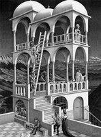M.C. Escher - Belvedere