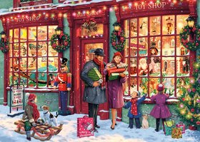 Gibsons 1000 - Christmas Toy Shop