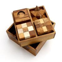 Box met 4 puzzels - set 1