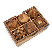 Box met 6 puzzels - set 2