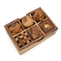 Box met 6 puzzels - set 2