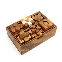 Box met 6 puzzels - set 4