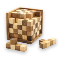 3D Pentomino Chess Puzzle