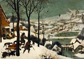 Piatnik 1000 - Jagers in de Sneeuw