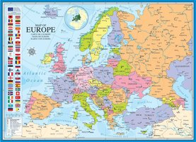 Eurographics 1000 - Map of Europe