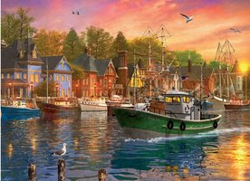 Eurographics 1000 - Harbor Sunset