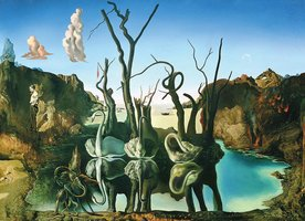 Eurographics 1000 - Dali: Swans Reflecting Elephants