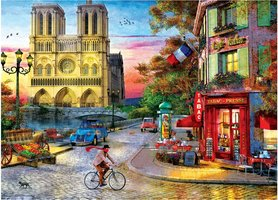 Eurographics 1000 - Notre Dame Sunset