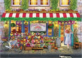 Eurographics 1000 - Plush Petals Flower Shop