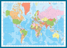 Eurographics 1000 - Map of the World