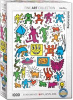 Eurographics 1000 - Collage Keith Haring