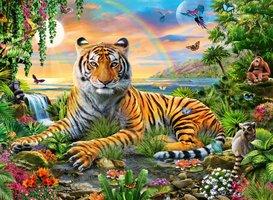 Ravensburger 300 (XXL) - Koning van de jungle