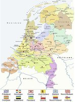 Ravensburger 100 (XXL) - Nederland kaart CITO