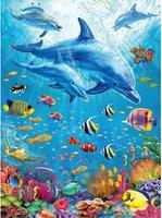 Ravensburger 100 (XXL) - Bijeenkomst van de Dolfijnen