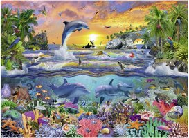Ravensburger 100 (XXL) - Tropisch Paradijs