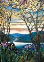 Piatnik 1000 - Magnolias and Irises