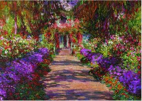 Piatnik 1000 - Monet: Garden in Giverny
