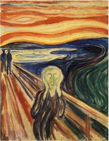 Piatnik 1000 - Edvard Munch: The Scream